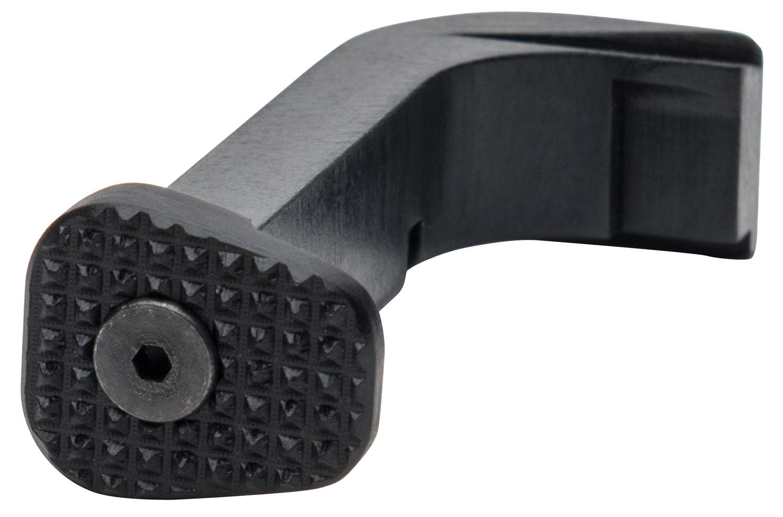 ZEV MRSM3GB Extended Mag Release compatible with Glock 20 Gen1-3 Aluminum Black Hardcoat Anodized