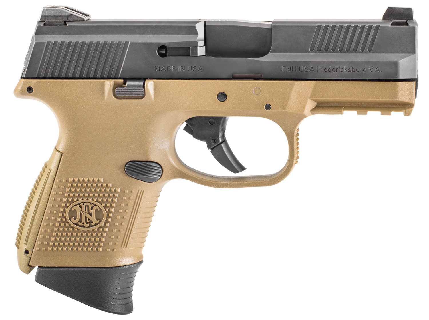 FN FNS-9C 9MM 1-12RD 1-17RD FDE/BLK
