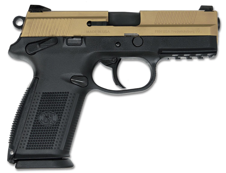 FN FNX-9 DA/SA BLK/FDE MS 2-17RD
