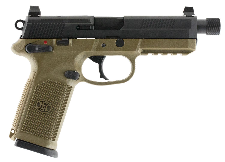 FN FNX-45 TACT 45ACP 10RD FDE/BLK