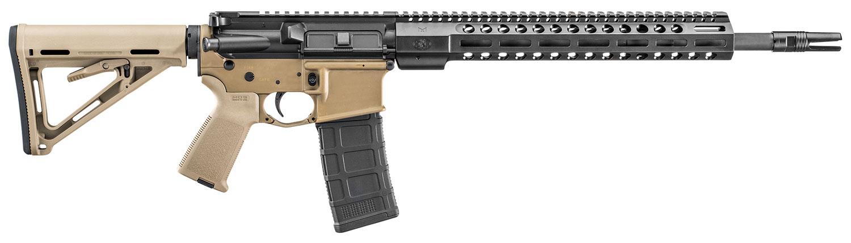 FN15 TACT CARB II 5.56 FDE/BLK - 30 RD MAG | 16 BBL