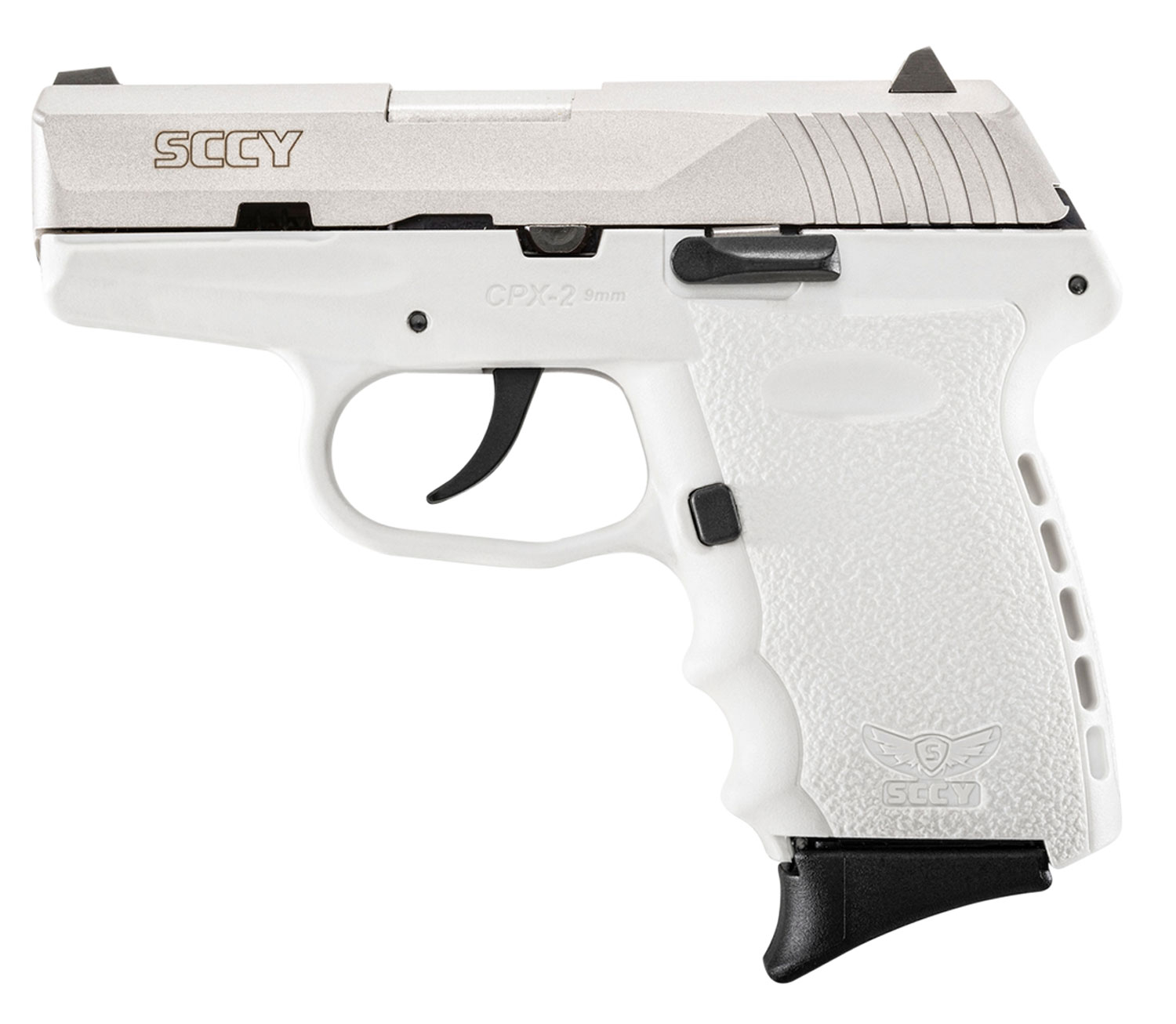 SCCY Industries CPX2TTWT CPX-2 Double 9mm 3.1