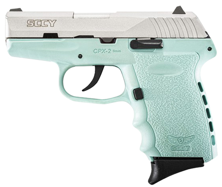 SCCY Industries CPX2TTSB CPX-2 Double 9mm 3.1