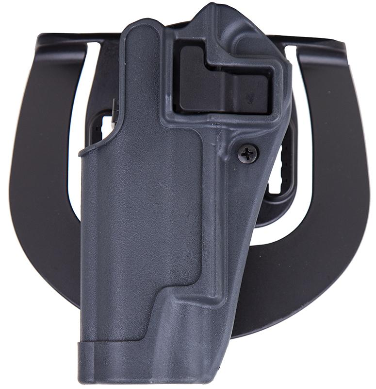 Blackhawk 413503BKL Serpa Sportster Gray Polymer OWB 1911 Colt Left Hand