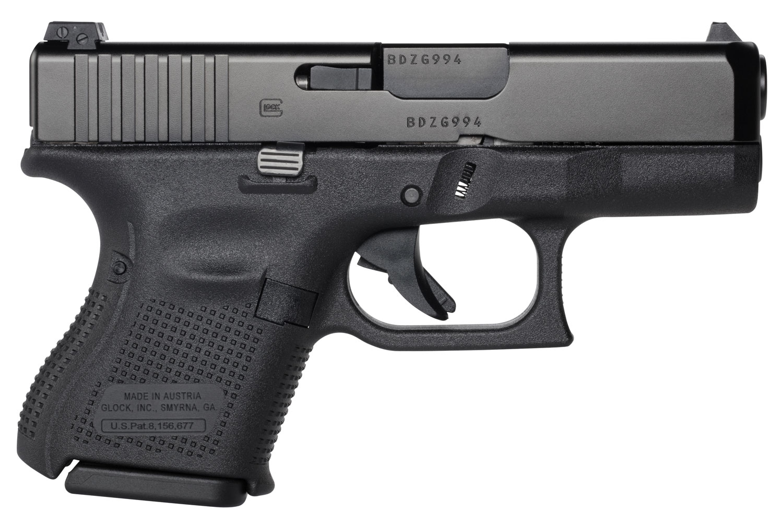 Glock PA2650201 G26 Gen5 Double 9mm Luger 3.43