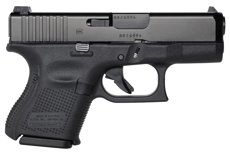 Glock PA2650701 G26 Gen5 Double 9mm Luger 3.43