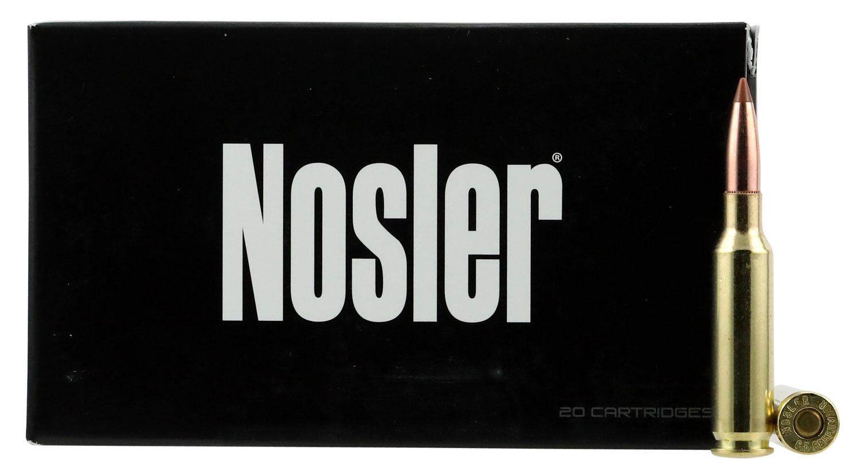 Nosler 40064 Ballistic Tip Hunting 6.5 Creedmoor 140 GR Ballistic Tip 20 Bx/ 10 Cs