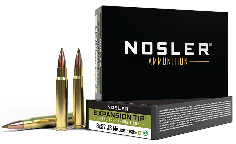 Nosler 40643 E-Tip Hunting 8x57mm JS 180 GR E-Tip 20 Bx/ 10 Cs
