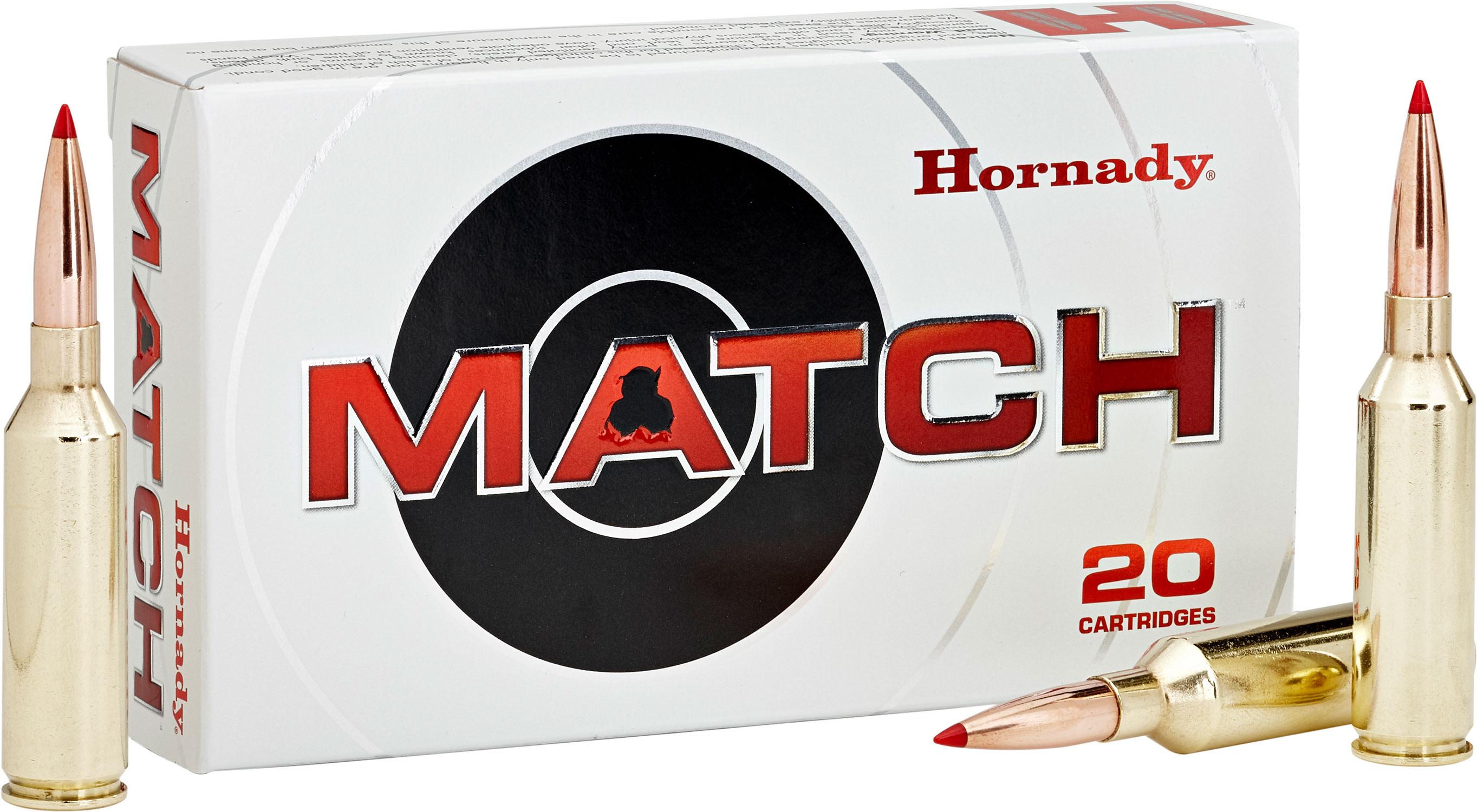 Hornady 82176 Match   300 Norma Magnum 225 GR ELD-Match 20 Bx/ 6 Cs