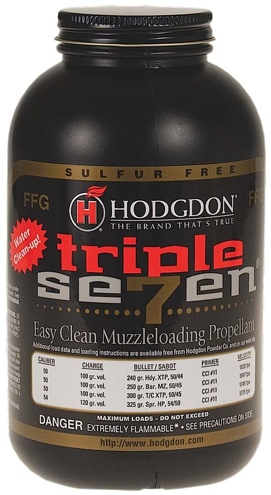 Hodgdon T72 Triple Seven Granulated FFG Powder 1 lb 1 Bottle