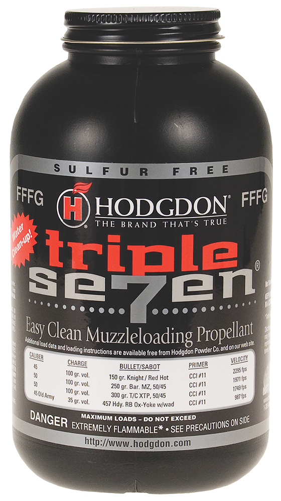 Hodgdon T73 Triple Seven Granulated FFFG Powder 1 lb 1 Bottle
