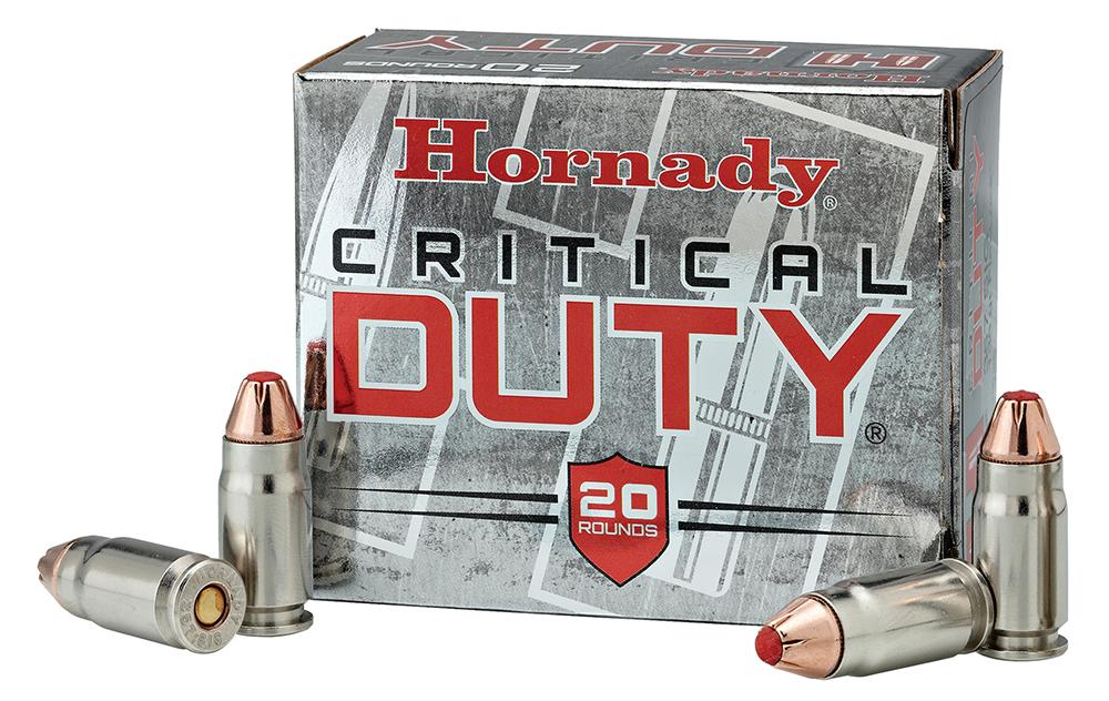 HRNDY 9MM+P 124GR CRT DUTY 25/250