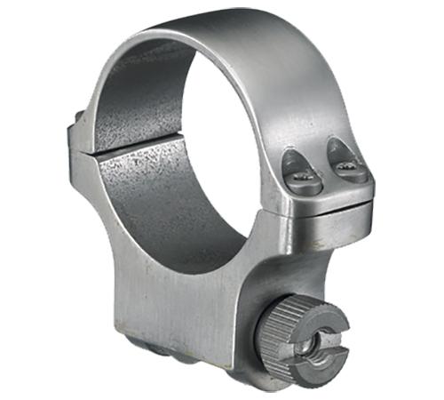 Ruger 90285 Clam Pack Single Ring Medium 30mm Diameter Stainless