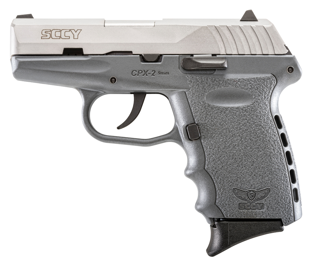 SCCY Industries CPX2TTSG CPX-2 Double 9mm 3.1