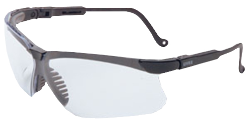 Howard Leight R03570 Genesis Shooting/Sporting Glasses Black Frame/Clear Lens