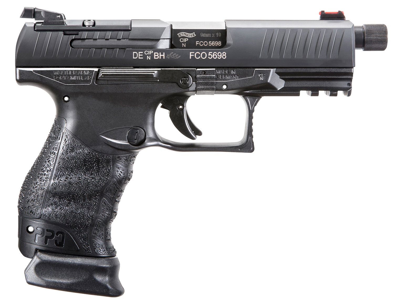 Walther Arms 2825929 PPQ M2 Q4 Tactical  9mm Luger Double 4.6