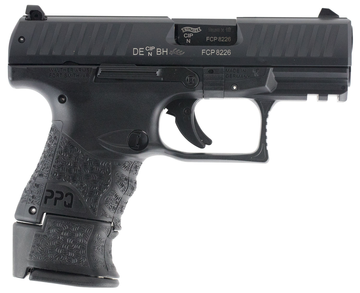 Walther Arms 2815249 PPQ M2 Subcompact  9mm Luger Single 3.5