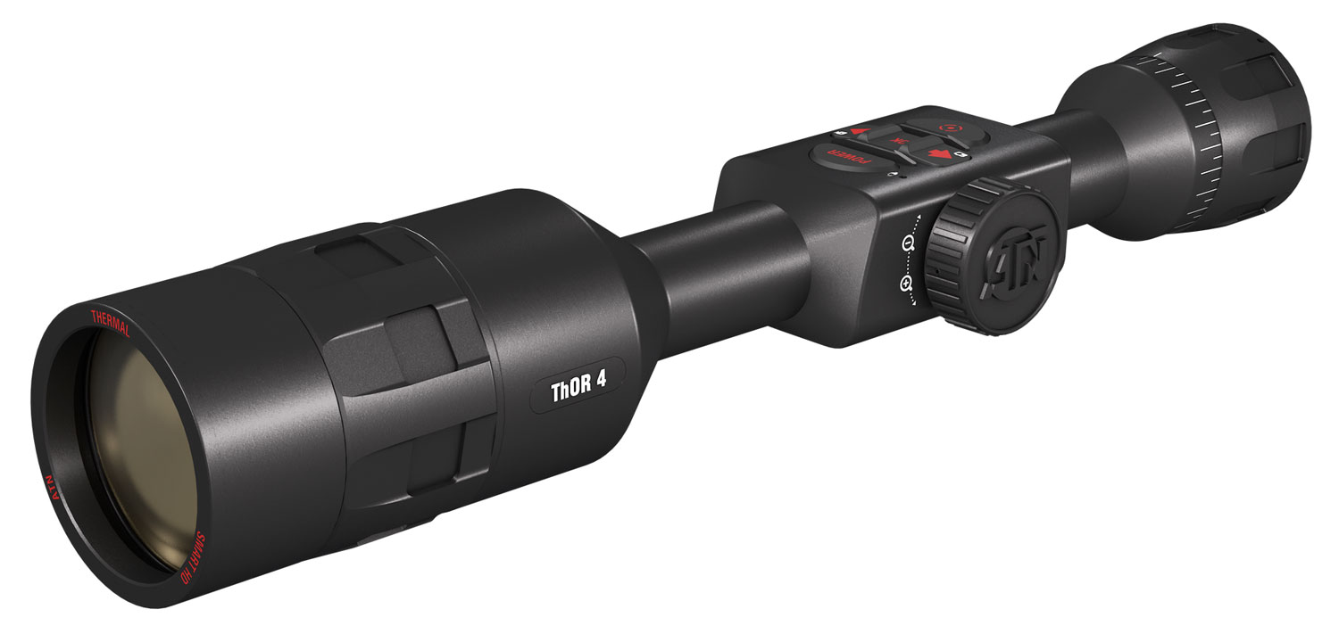 ATN TIWST4644A Thor 4 640 HD Thermal Scope 4 Gen 4-40x  6 degrees x 4.7 degrees FOV