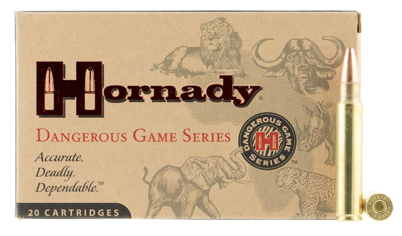Hornady 82322 Dangerous Game  375 Holland & Holland Magnum 300 GR DGS 20 Bx/ 6 Cs