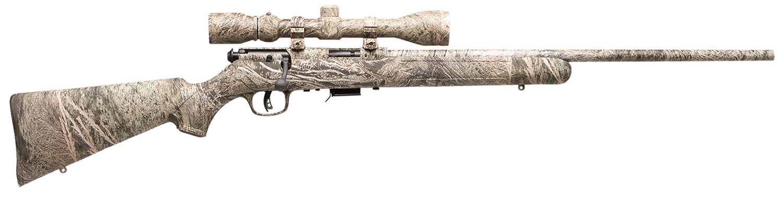Savage 96765 93R17 XP Camo Brush with Scope Bolt 17 Hornady Magnum Rimfire (HMR) 22