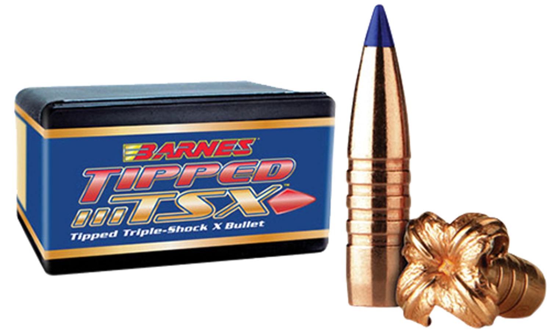 Barnes Tipped TSX Bullets  <br>  30 cal. 168 gr. 50 pack