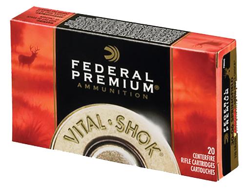 Federal P270WSMTT1 Vital-Shok 270WinShortMag Trophy Bonded Tip 130 GR 20Bx/10Cs