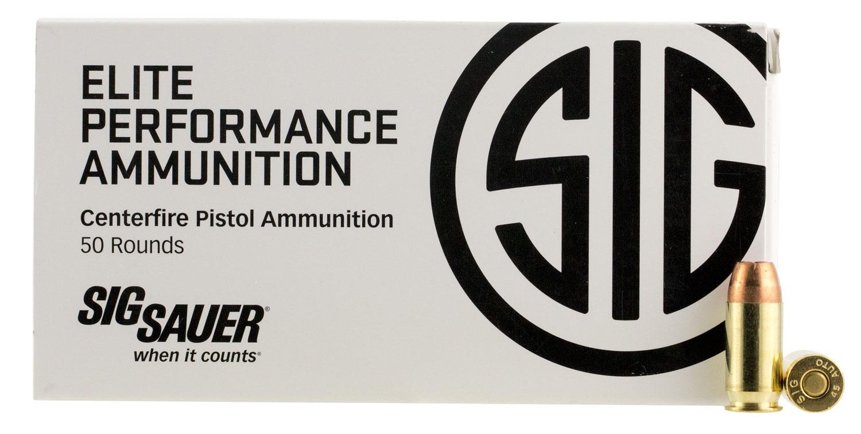 Sig Sauer E45AP150 V-Crown 45 Automatic Colt Pistol (ACP) 200 GR Jacketed Hollow Point 50 Bx/ 20 Cs