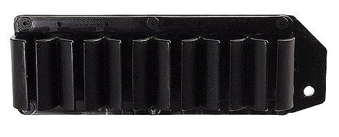 TacStar 1081164 SideSaddle 6 Shot Shotshell Carrier 12 Gauge Benelli M4 Black Polymer/Aluminum