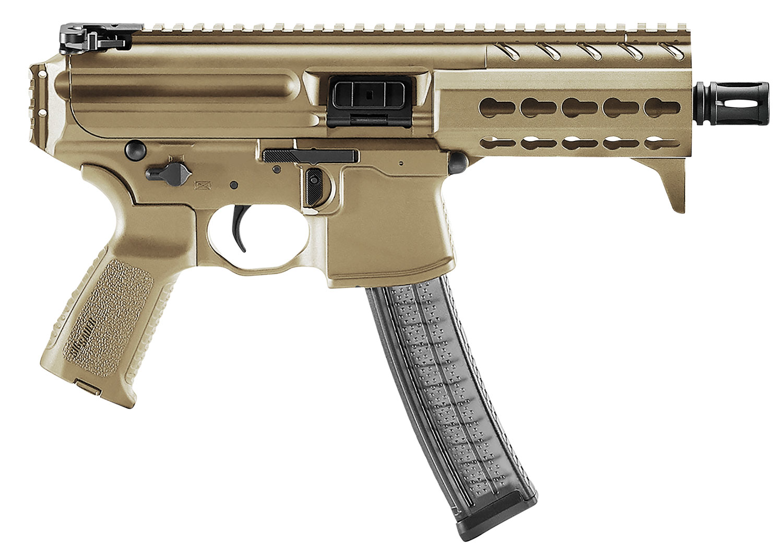 Sig Sauer MPXK9KMFDE MPX K AR Pistol Semi-Automatic 9mm Luger 4.5