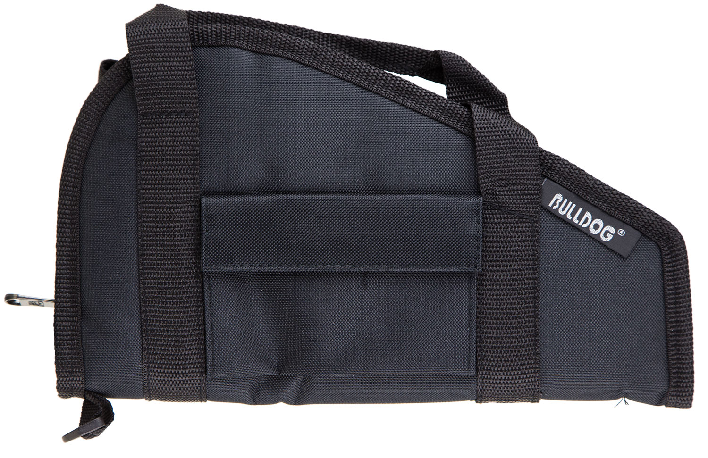 Bulldog Pistol Rug with Handle  <br>  Black Small