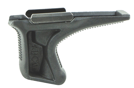 Bravo KAG1913BLK BCMGunfighter Kinesthetic Angled Grip Forend Grip Textured Polymer Black