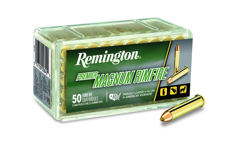 Remington PR22M1 Premier Gold Box 22WinMag AccuTip-V 33 GR 50Box/40Case