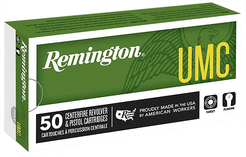 Remington Ammunition L40SW4 UMC 40 Smith & Wesson (S&W) 165 GR Metal Case (FMJ) 50 Bx/ 10 Cs