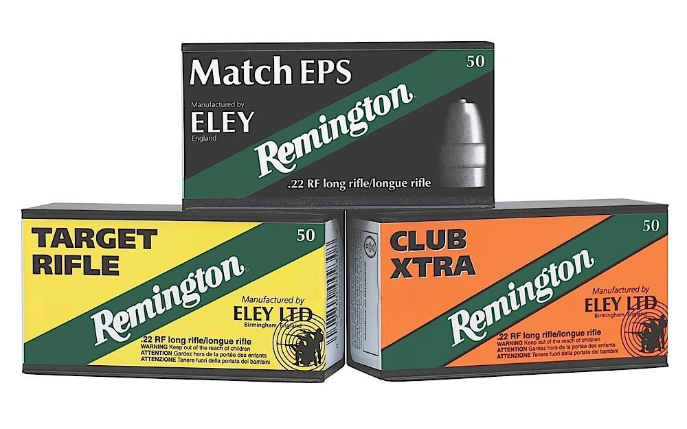 Remington Ammunition RE22CX Eley Club Xtra 22 Long Rifle (LR) 40 GR Lead Round Nose 50 Bx/ 100 Cs
