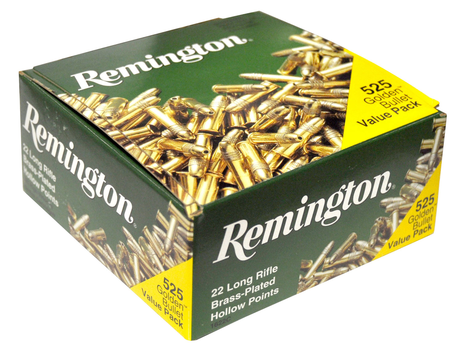 Rem Ammo 1622C 22LR 36GR Plated Hollow Point (6300rds total) 525Bx/12Cs