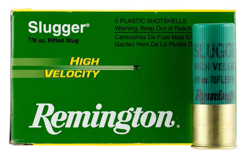 Remington Ammunition SPHV12MRS Slugger High Velocity 12 Gauge 3