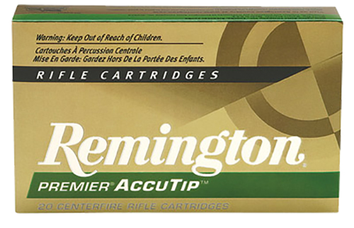 Remington Ammunition PRA270WA Premier 270 Winchester AccuTip 130 GR 20Box/10Case
