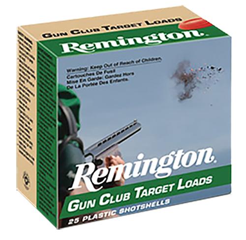 Remington Ammunition GC128 Gun Club Target Load 20234 12 Gauge 2.75