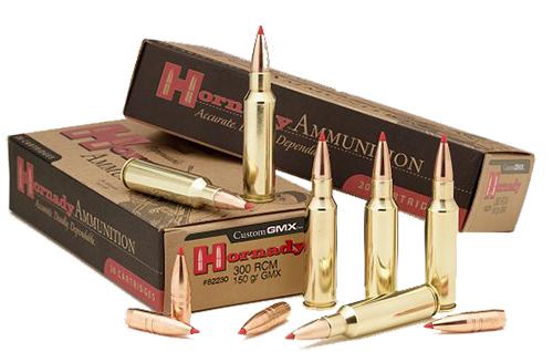 Hornady 82230 Superformance  300 Ruger Compact Magnum 150 GR GMX 20 Bx/ 10 Cs