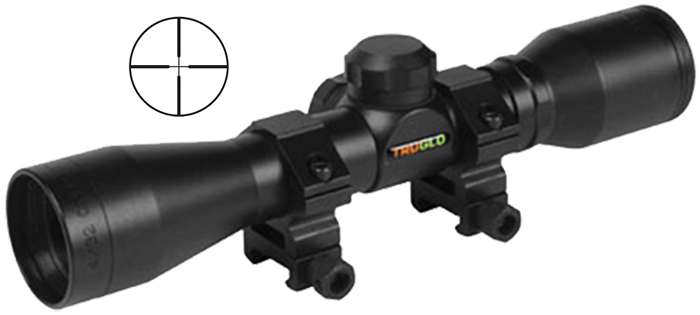 Truglo TG8504BR Compact 4x 32mm Obj 22.5 ft @ 100 yds FOV 1