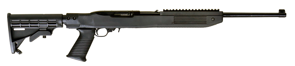 Ruger 1219 10/22 Tapco Intrafuse Exclusive Semi-Automatic 22 Long Rifle (LR) 16.6
