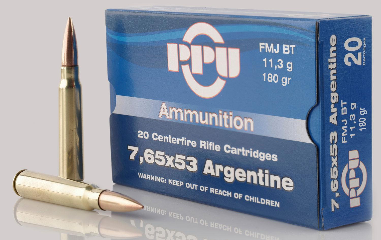 PPU PP68F Metric Rifle 7.65x53mm Argentine 180 GR Soft Point 20 Bx/ 10 Cs