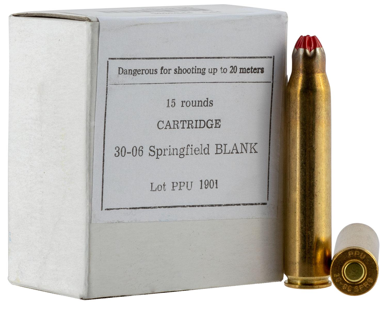 PPU PPB3006 Blank Ammo 30-06 Springfield 15 Bx/ 54 Cs