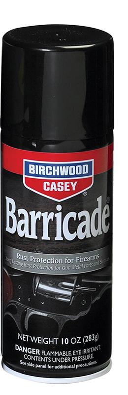 BIRCHWOOD-CASEY BARRICADE RUST PREVENTATIVE 10OZ 6CS