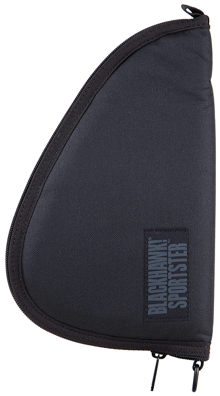 Blackhawk 74PR01BK Sportster Medium Pistol Rug 1000 Denier Nylon Textured Black 12.5