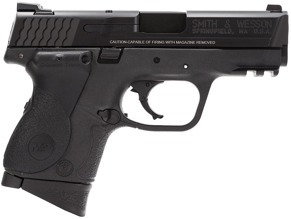 Smith & Wesson LE 120075 M&P 40 Compact Crimson Trace Lasergrip Double 40 Smith & Wesson (S&W) 3.5