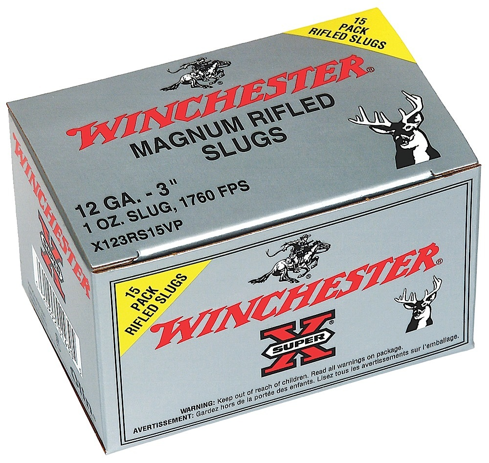 Winchester Ammo X123RS15VP Super-X 12 Gauge 3