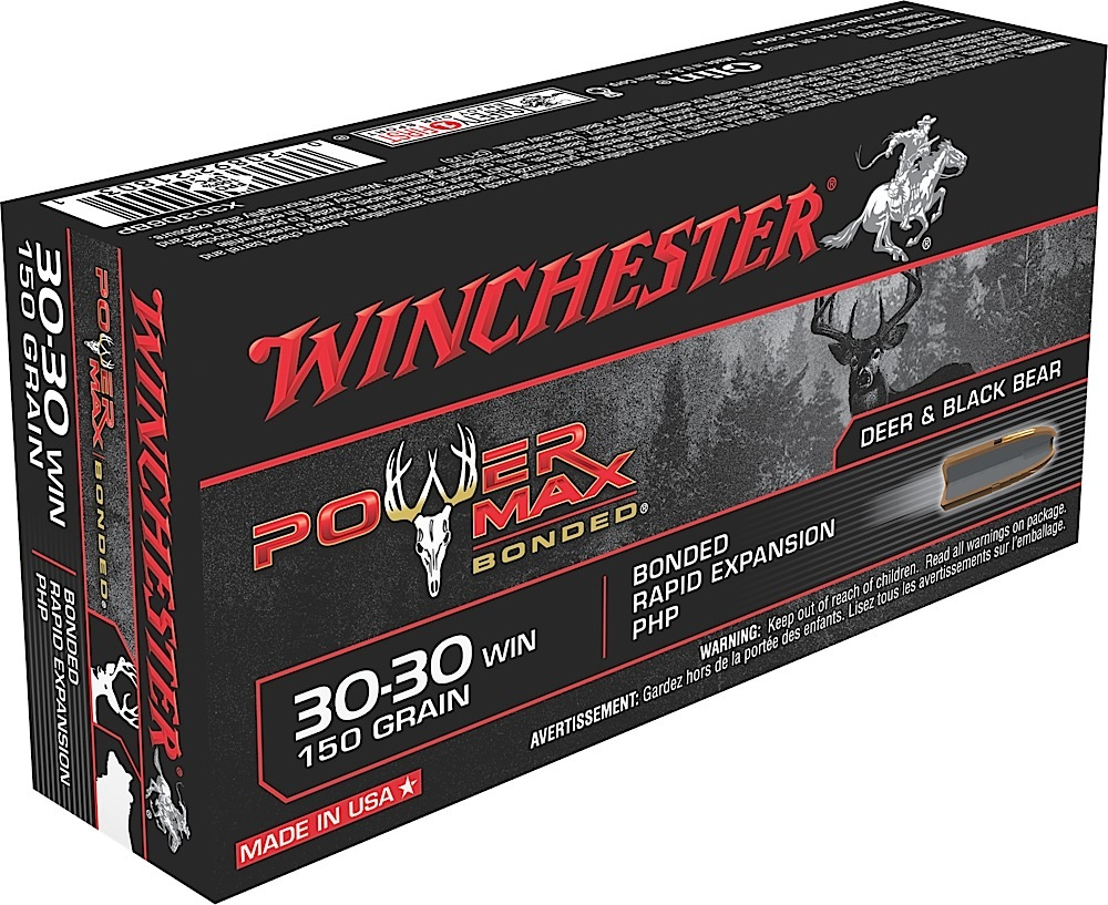 Winchester Ammo X30306BP Super-X 30-30 Win 150 GR Power Max Bonded 20 Bx/ 10 Cs