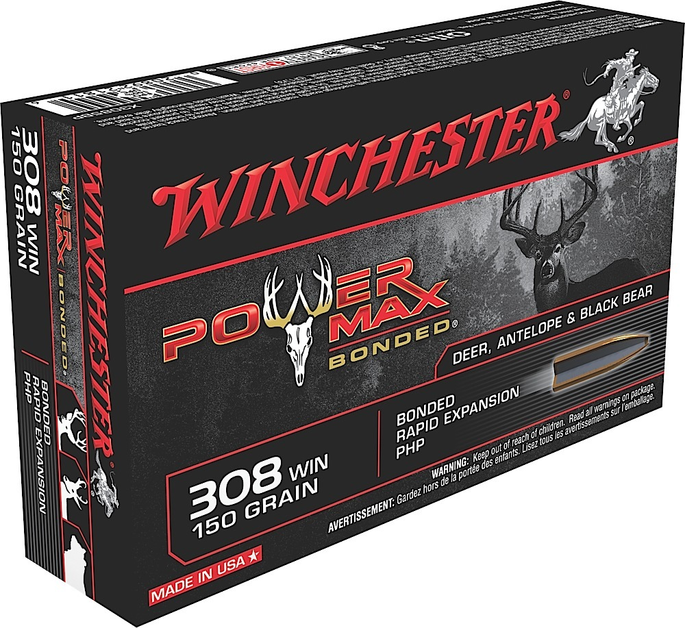 Winchester Ammo X3085BP Super-X 308 Winchester/7.62 NATO 150 GR Power Max Bonded 20 Bx/10 Cs