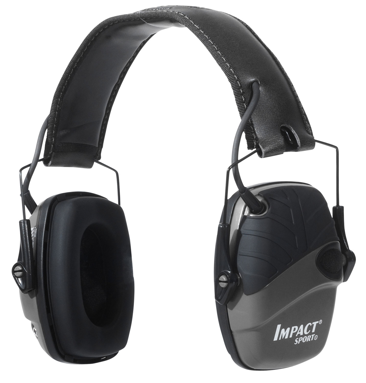 Howard Leight R02524 Impact Sport w/Deluxe Headband Electronic 22 dB Black